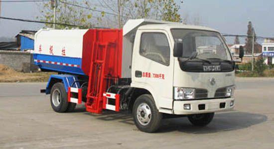 东风福瑞卡自装卸式垃圾车