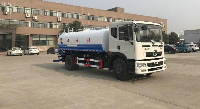 东风153新款国五D701绿化喷洒车(10-15吨)