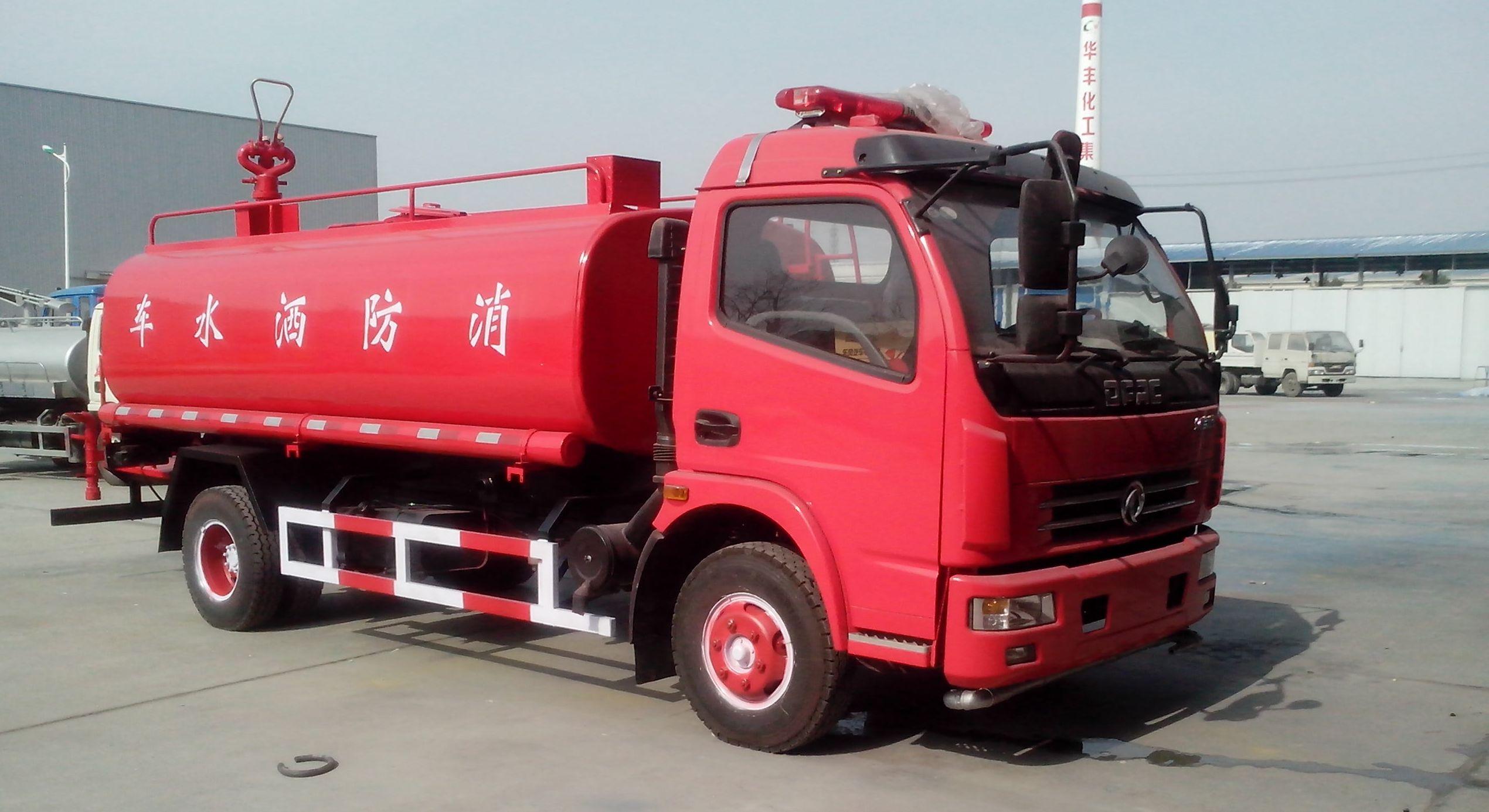 东风大多利卡消防洒水车(3-6吨)
