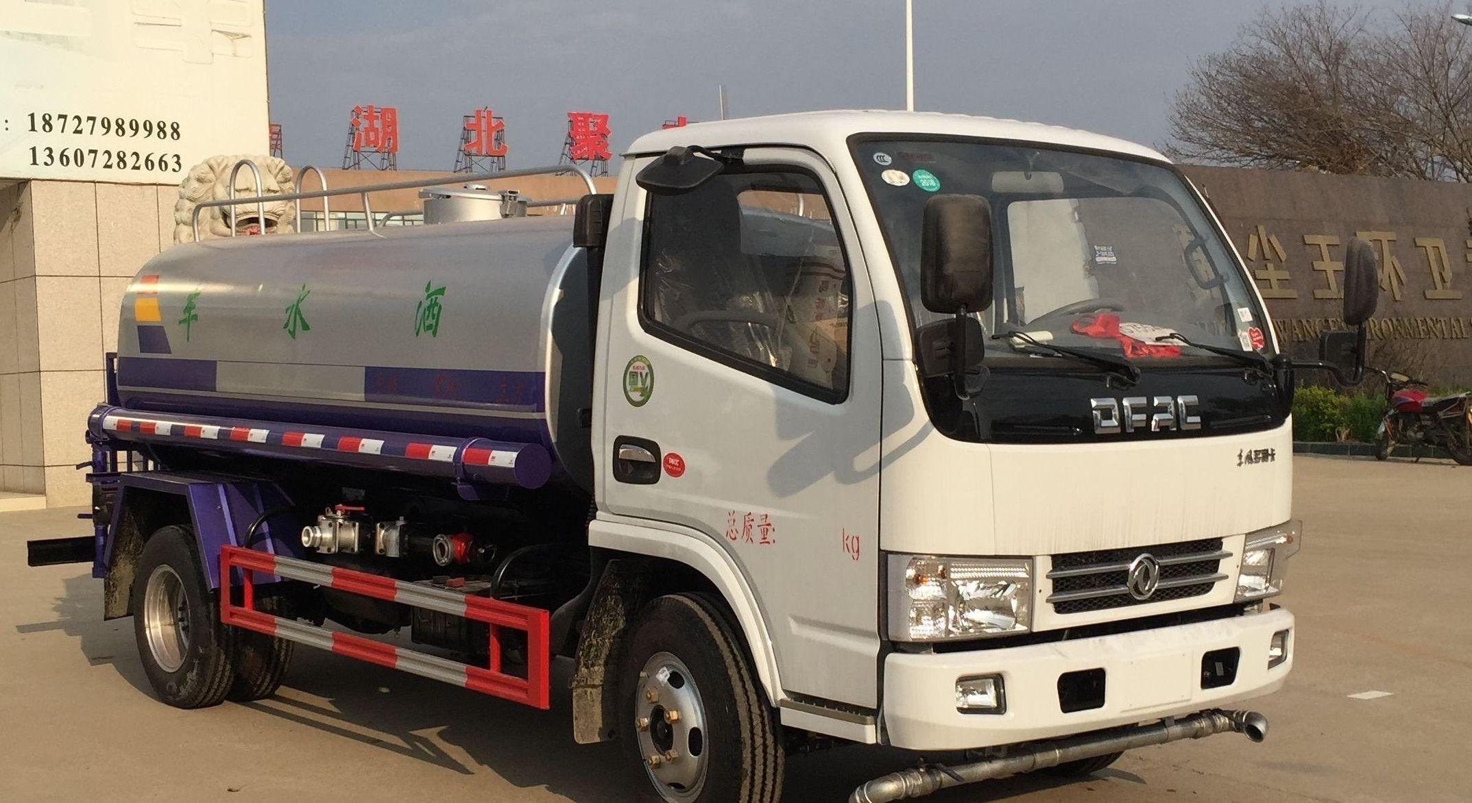 东风小多利卡洒水车(4-5吨)